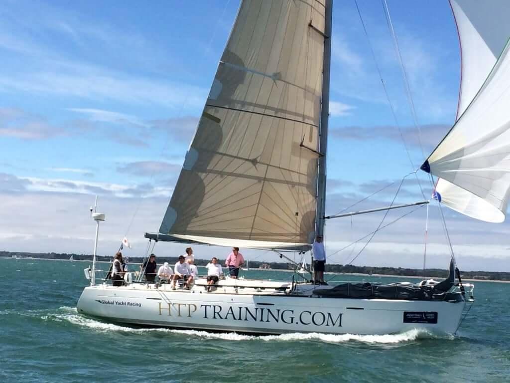 HTP Training sponsor of Global Yacht Racing EH01